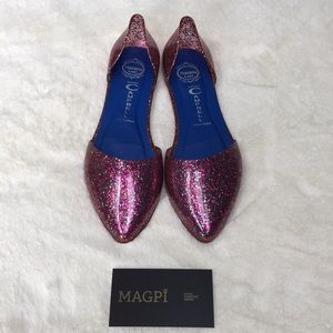Jeffrey Campbell Jelly Glitter Flat